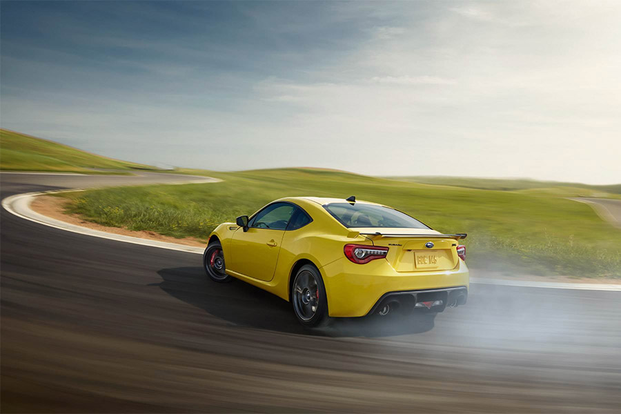 Subaru BRZ Series Yellow
