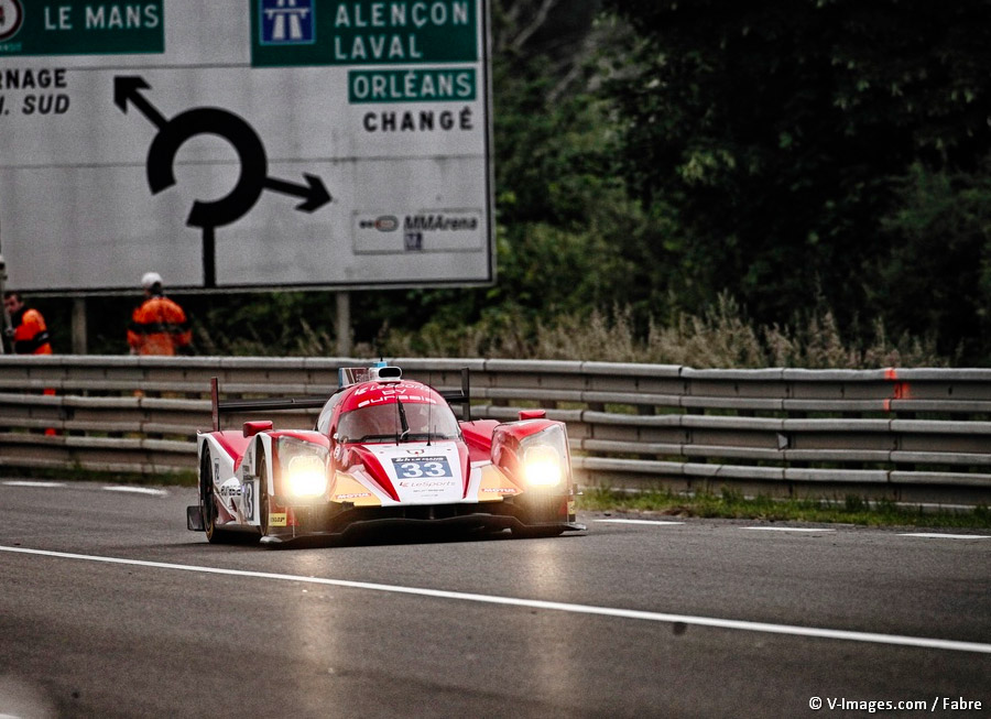 Eurasia Motorsport quickest LMP2 entry in Le Mans 24 Hour official test day
