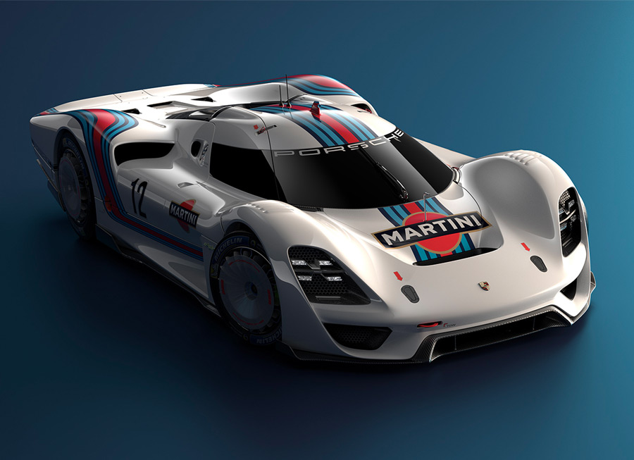 Porsche 908-04 Concept revives our love affair with the long tail