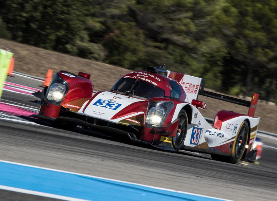 Eurasia narrowly misses out on podium at 4 Hrs of Le Castellet