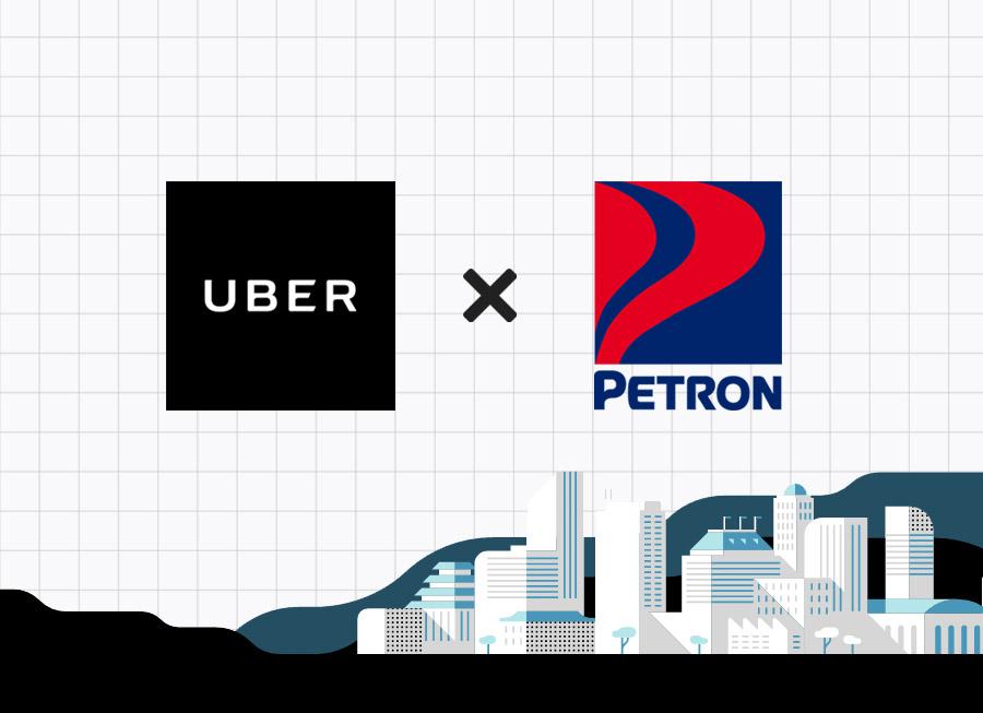 Note that Petron now powers Uber rides around Metro Manila