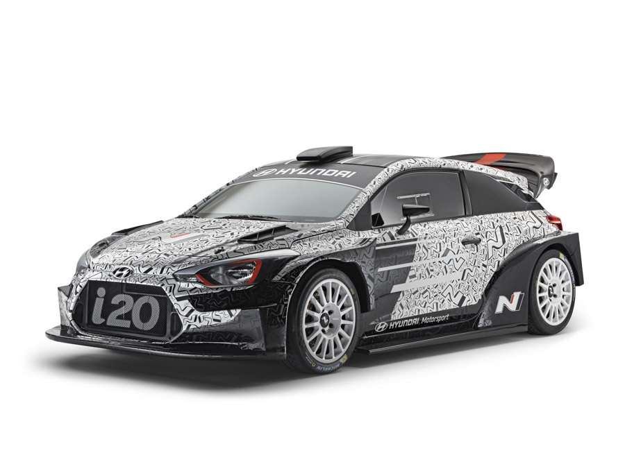 Hyundai Motorsport gives a glimpse of their 2017-spec i20 WRC