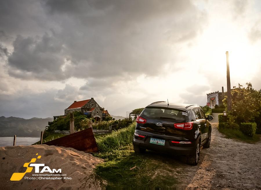 Kia True North drive in Batanes
