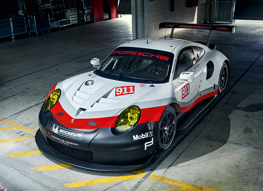 The reason why Porsche made a mid-engined 911 RSR GTE