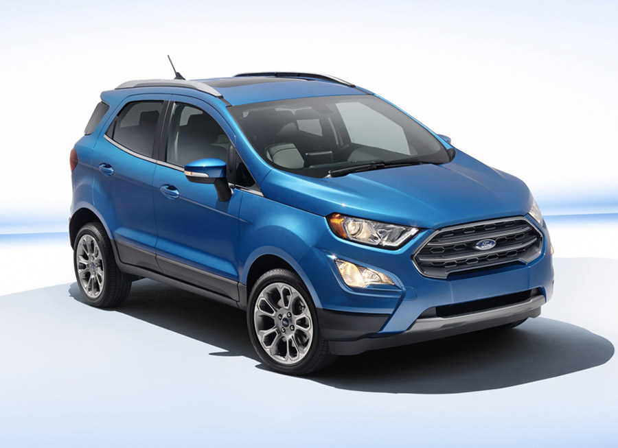 What the updated Ford EcoSport could look like when it comes in 2018