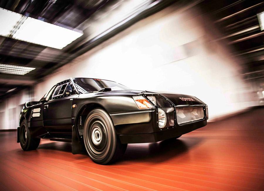 The Black Monster: Toyota Team Europe's secret 222D Group S rally car