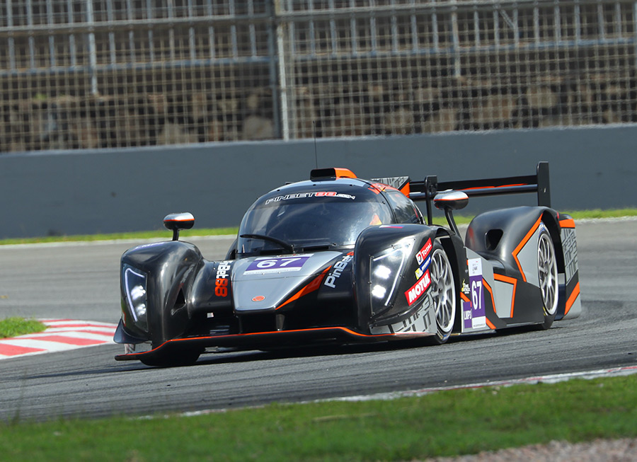 Sadly, PRT Racing didn't make it to the finish line of the 4 Hours of Zhuhai