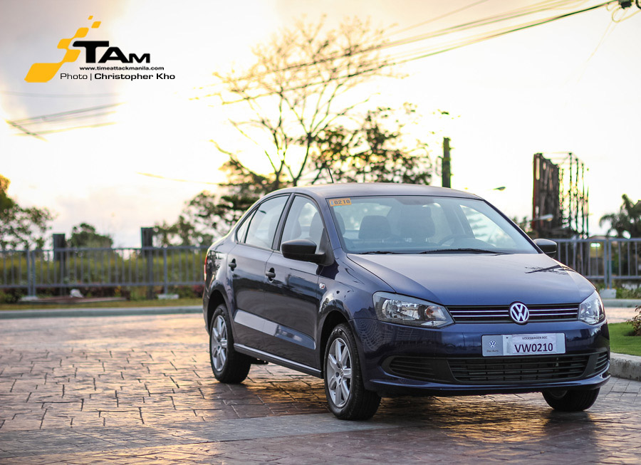 What it's like to drive around in a Volkswagen Polo Notch?