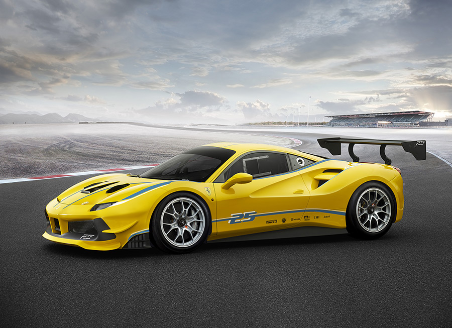 Ferrari adds new 488 Challenge into the gentleman driver's ultimate wish list