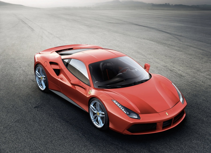 Ferrari adds twin turbos to the 458 to create the new 488 GTB