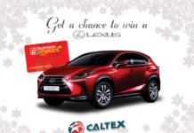 Caltex Lexus NX200t Promo