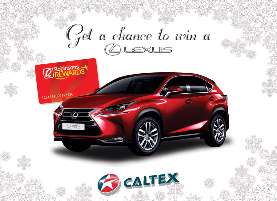 Want a free Lexus? Caltex could be the best Secret Santa this Christmas