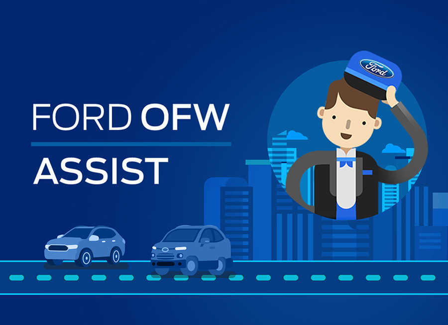 Ford launches new online service to help OFWs buy a brand new Ford