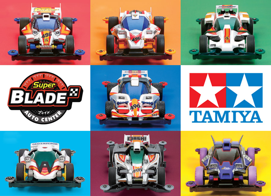 Tamiya kits can now be bought from Blade Auto Center