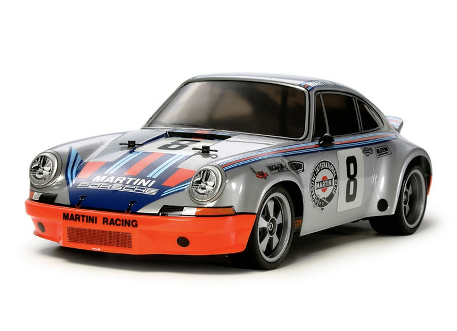 '73 Porsche 911 Carrera RSR now in 1/10 scale RC from Tamiya