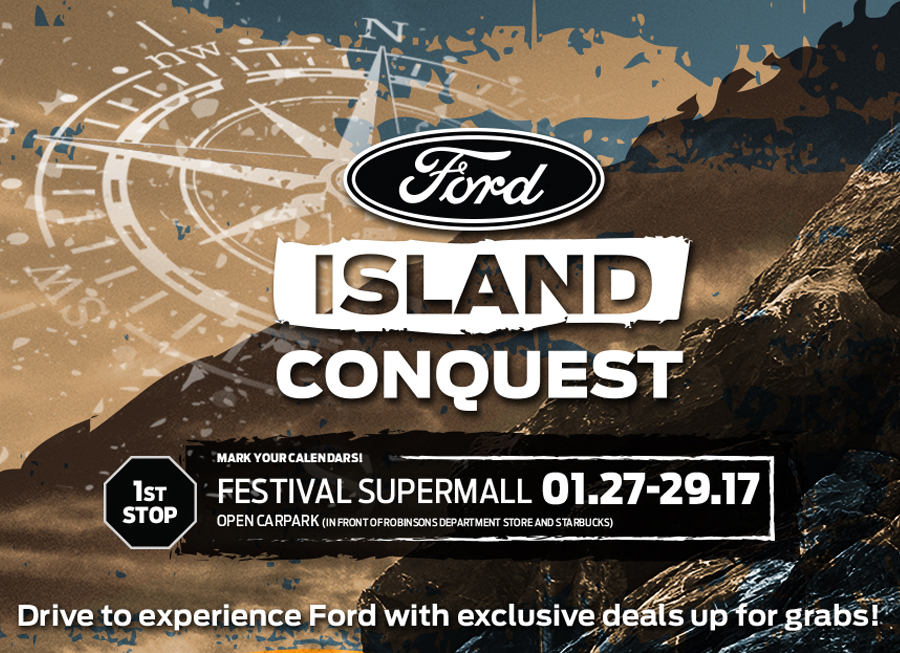 Ford's Island Conquest tour is cooking something big and it starts this weekend