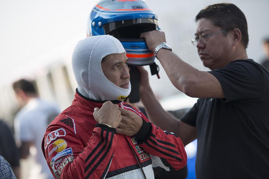 Vincent Floirendo Audi R8 LMS