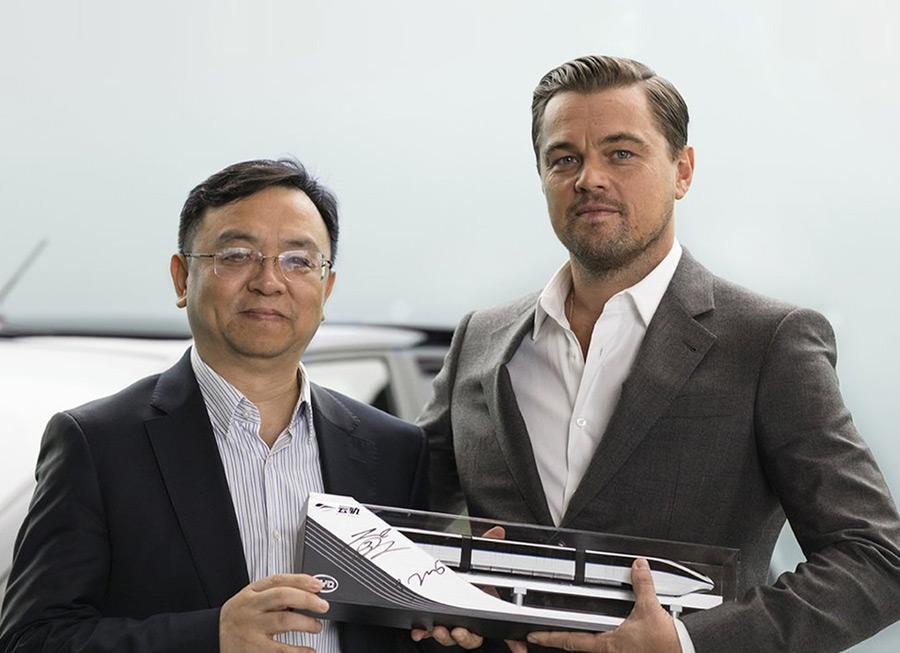 Why did Leonardo DiCaprio become BYD's new brand ambassador?