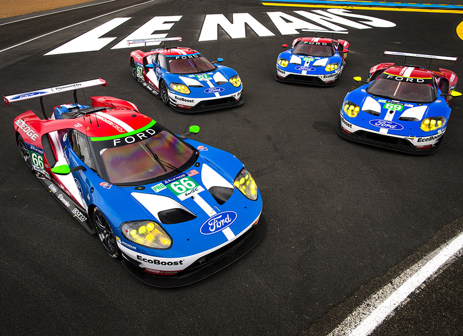 A squad of Ford GTs will attempt to repeat Le Mans 24 Hour victory in 2017