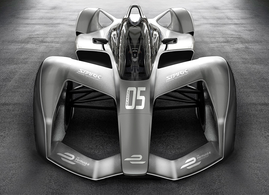 This is what Formula E's new chassis could look like in 2018