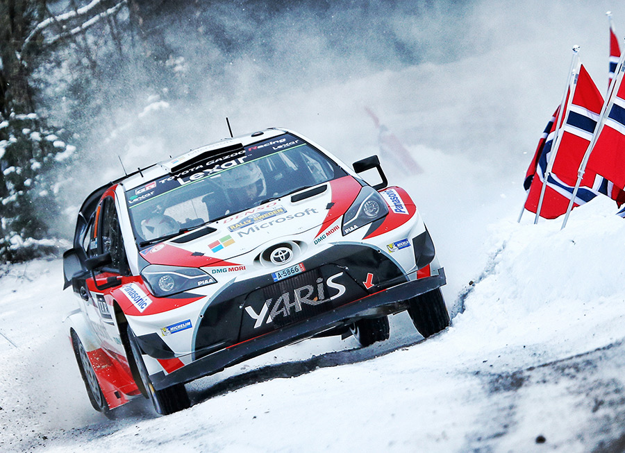 Toyota GAZOO Racing has won its first WRC rally since 1999