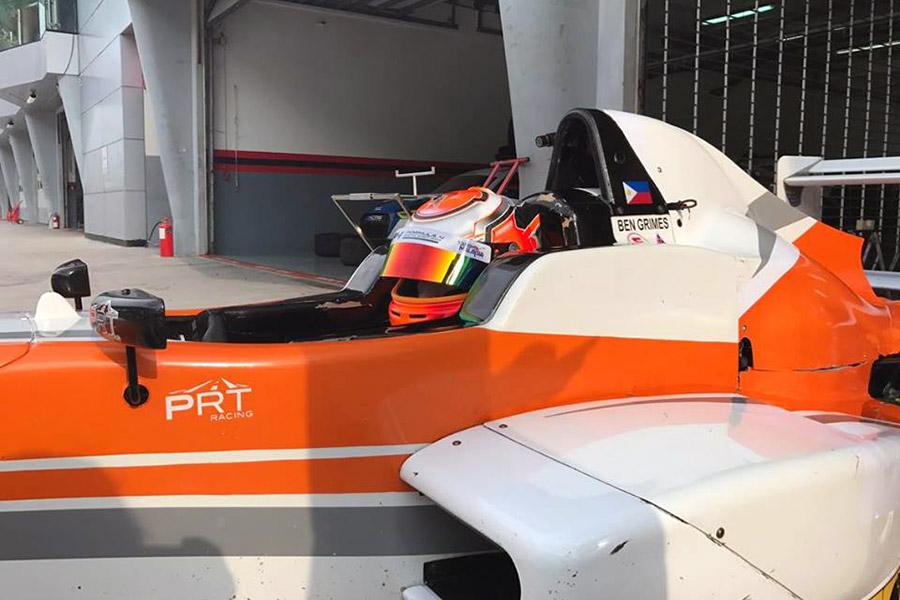 Ben Grimes Formula Masters