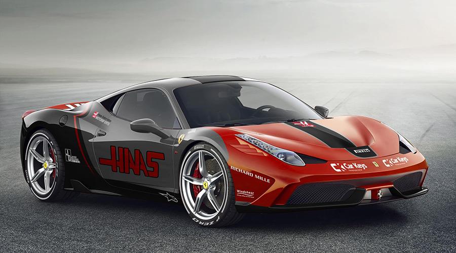 Sauber 2017 F1 Livery on a Ferrari 812 Superfast