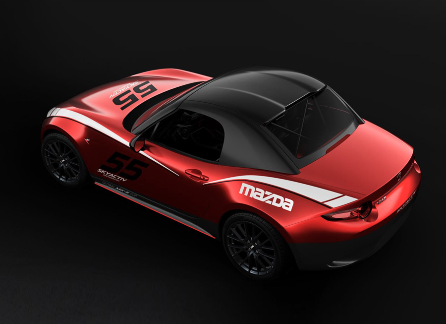 Mazda now offers a hardtop for the MX-5, exclusive for Cup Cars only