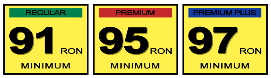 91 Ron Fuel Auto Cars