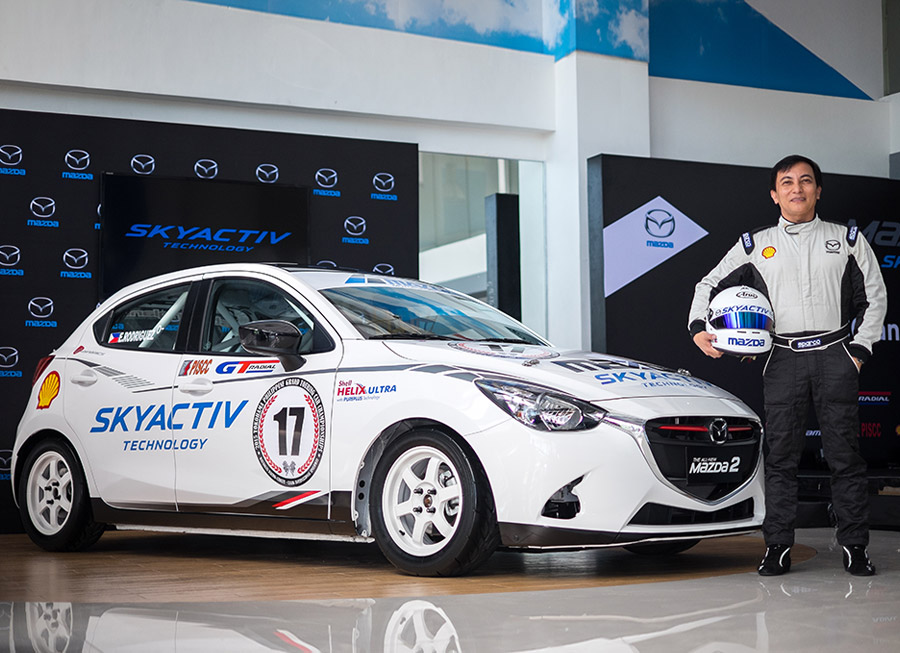 Edwin Rodriguez win PTCC and Philippine GT titles in a Mazda 2 SkyActiv