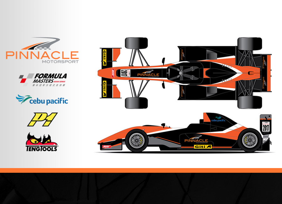 Cebu Pacific Air by Pinnacle to debut new livery and driver lineup for Formula Masters