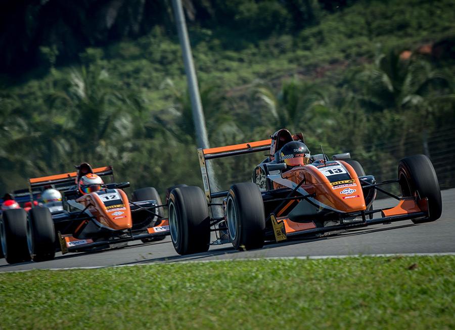 Cebu Pacific Air by Pinnacle gets race win, podium finish at Formula Masters in Sepang