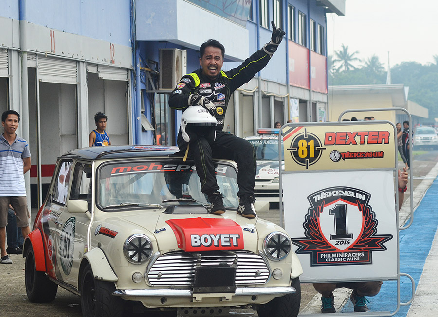 Dexter Daquigan will be the first Filipino to race in the Classic Mini Championship Asia