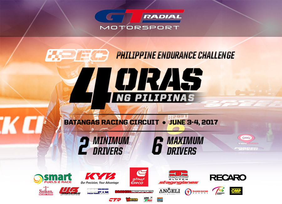 GT Radial x 4 Oras ng Pilipinas is the new bite-sized Philippine Endurance Challenge
