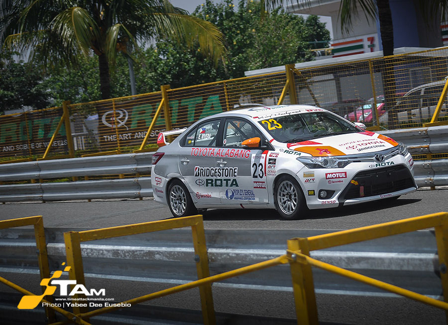 Estefano Rivera takes dominant win at the Manila Bay Circuit for Vios Cup Rd 3