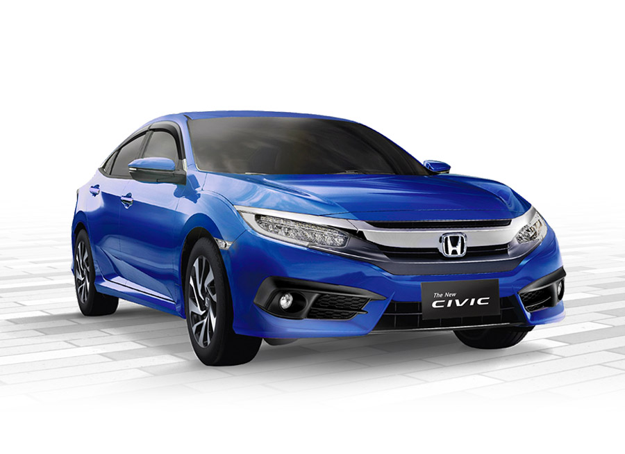 A wild 'blue' Civic appears; New limited edition model from Honda Ph