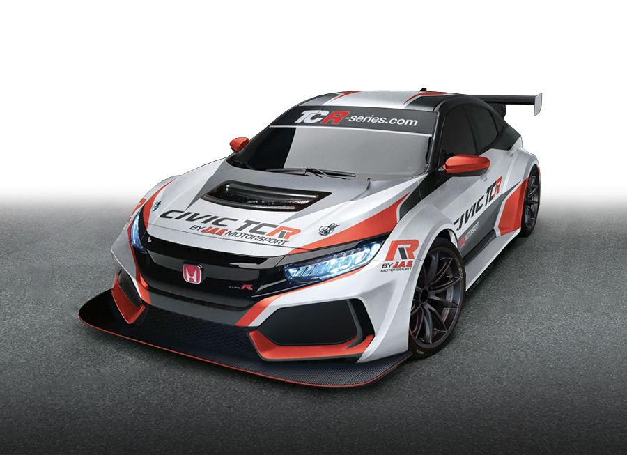 JAS Motorsport preps all-new Honda Civic Type R for TCR duty in 2018