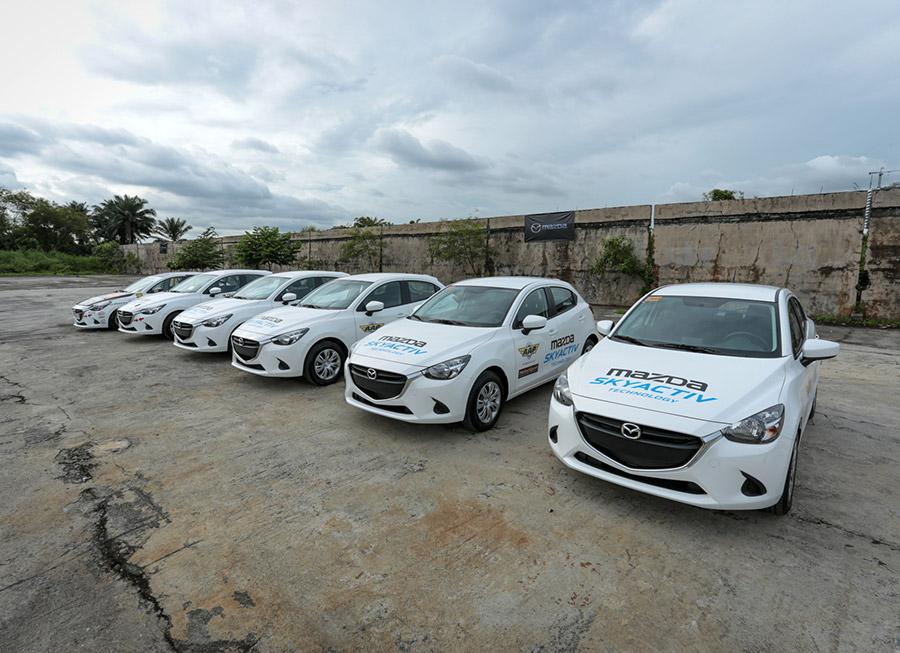 Mazda Ph supplies AAP's Motorsport Development Program with 5 new school cars
