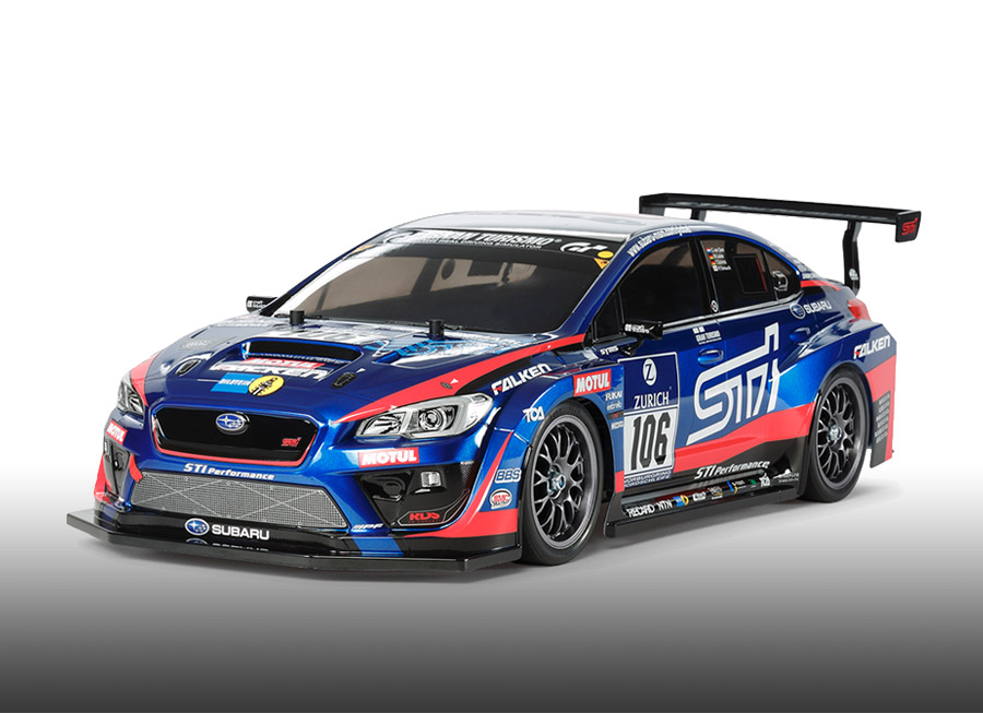 Tamiya now has a Subaru WRX STI NBR Challenge RC from the StickBomb video