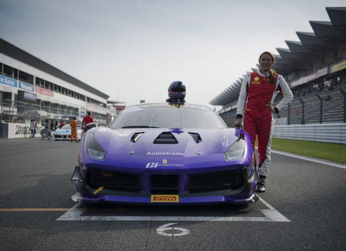 Angie King Ferrari Challenge Asia Pacific