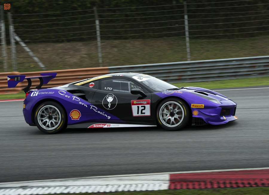 Angie King takes 1st place in Ferrari Challenge Asia Pacific outing at Sepang