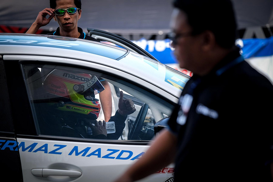 Edwin Rodriguez Mazda 2