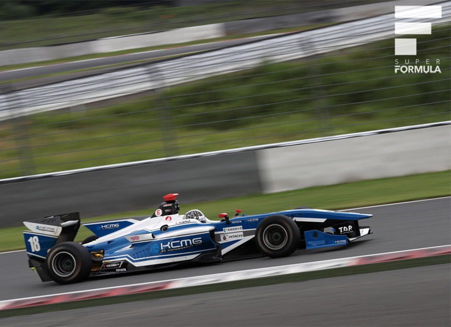 Kamui Kobayashi scores KCMG's first ever Super Formula podium at Motegi