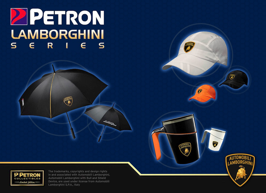 These cool Lamborghini Lifestyle items are now available from Petron