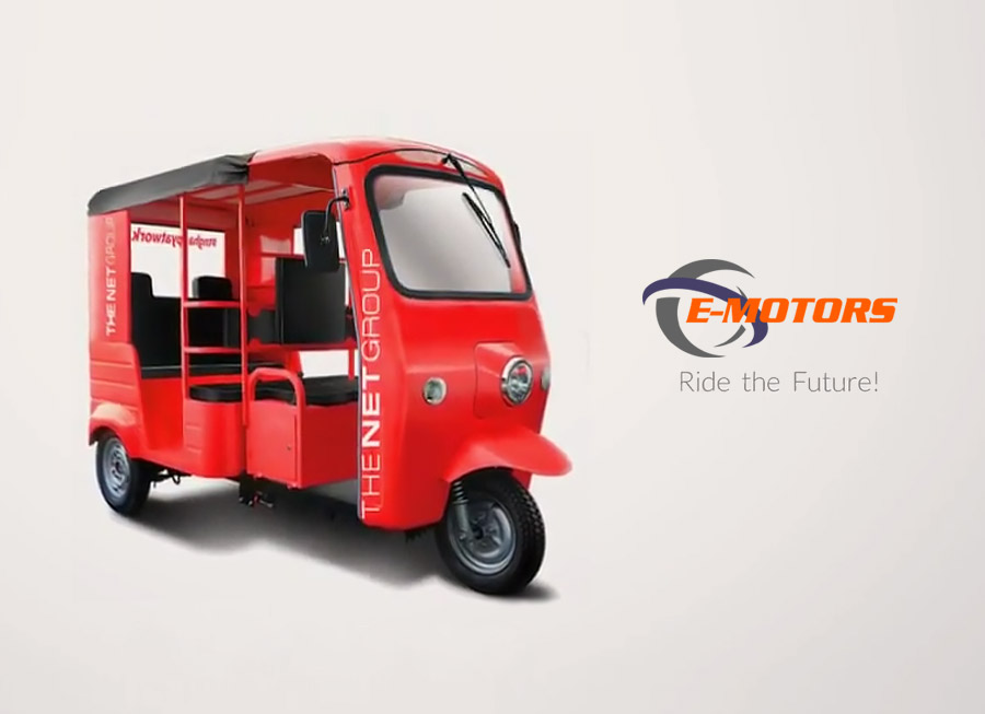 EMotors now provides 100% electric shuttles in BGC for The Net Group