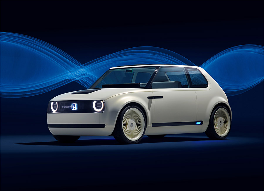 Honda Urban EV Concept is a stylish, retro throwback to the 1st gen Civic