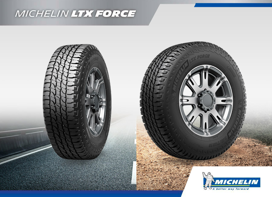 Michelin LTX Force offers the best on- and off-road performance for your SUV
