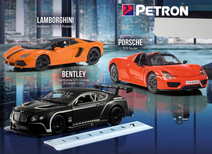 Petron Supercars Collection