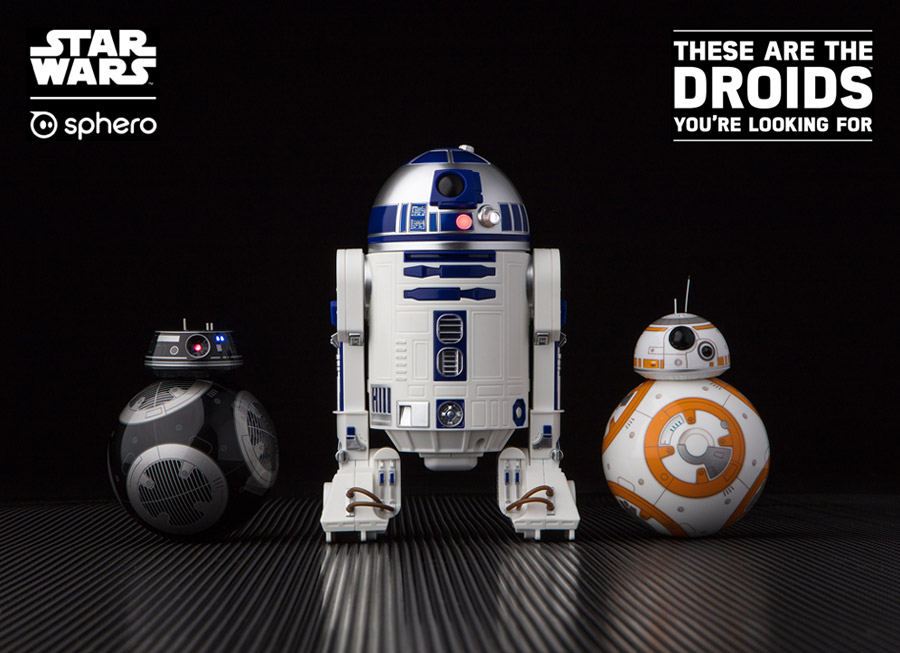 Sphero's new R2-D2 and BB-9E are THE new droids you're looking for