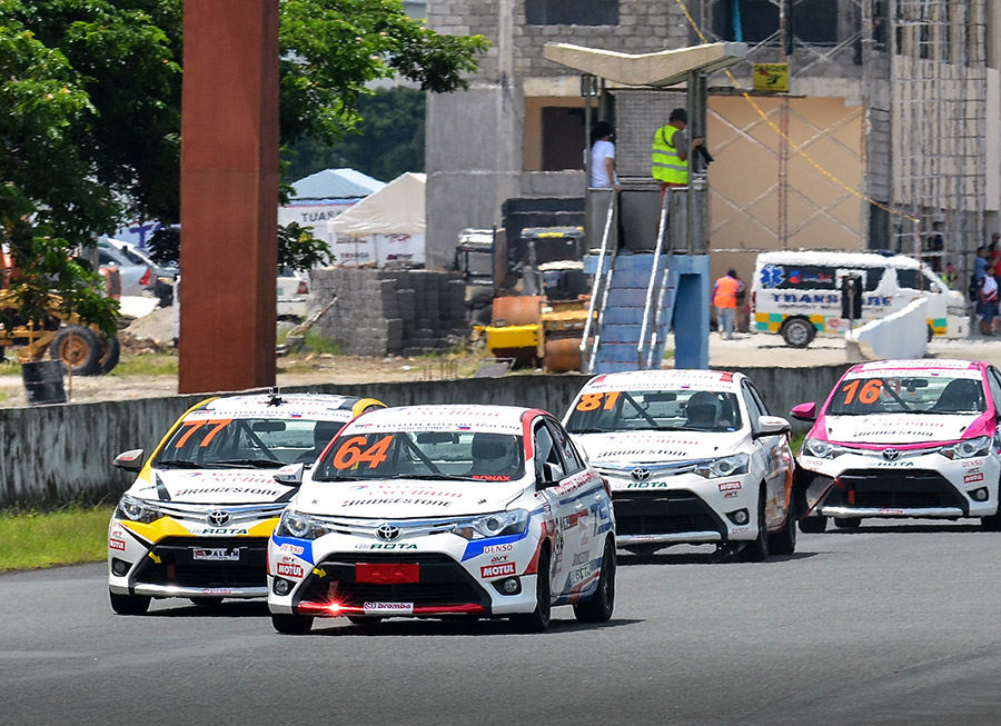 Toyota San Fernando lands podium finish in a difficult Vios Cup Rd 3